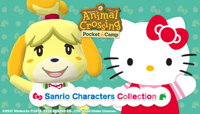 NoA: 'Nintendo's Animal Crossing Pocket Camp adds Sanrio character items for a limited time'