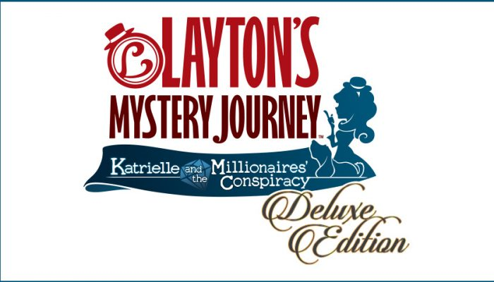 NoA: 'Layton's Mystery Journey: Katrielle and the Millionaires' Conspiracy – Deluxe Edition Launches for Nintendo Switch on Nov. 8