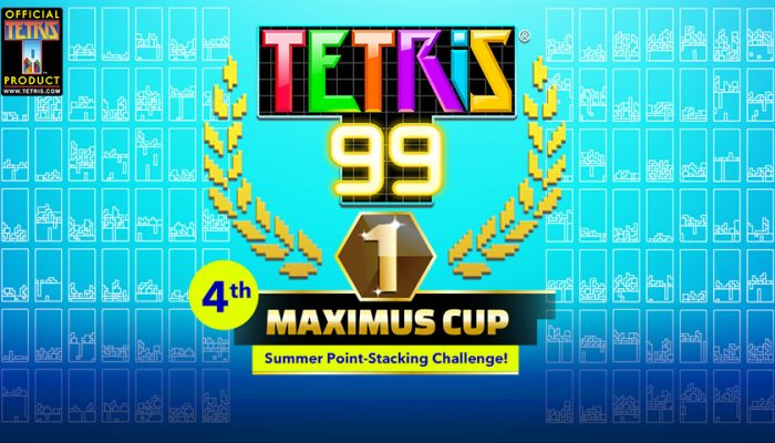 NoA: 'Play the June Tetris 99 online event and you could win 999 My Nintendo Gold Points!'