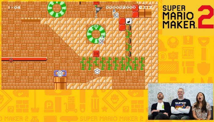 Nintendo Minute – Our Friend Brings Us Crazy Super Mario Maker 2 Levels!!