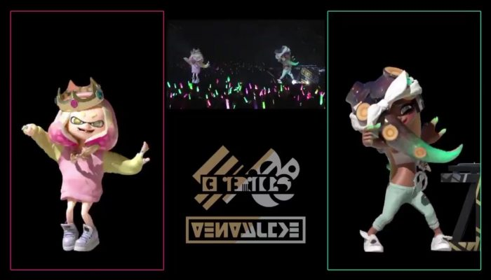 Splatoon 2 Live in Makuhari's Blu-ray has a focus on Pearl and Marina's dance moves
