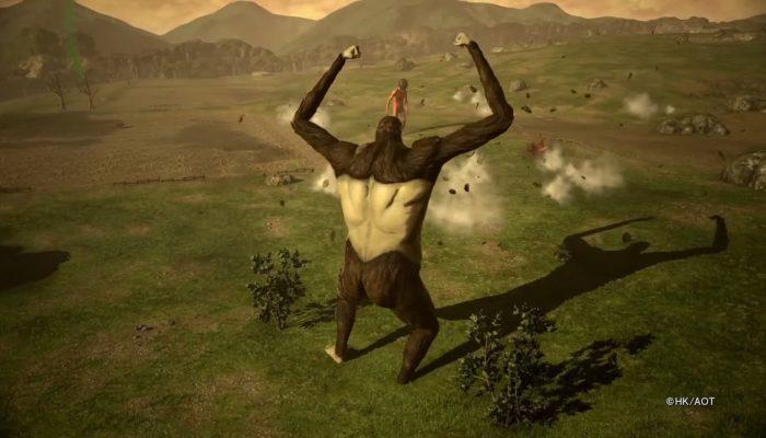 Attack on Titan 2: Final Battle – Titan Transformation Highlight