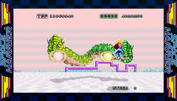 SEGA Ages – Japanese Space Harrier Overview Trailer