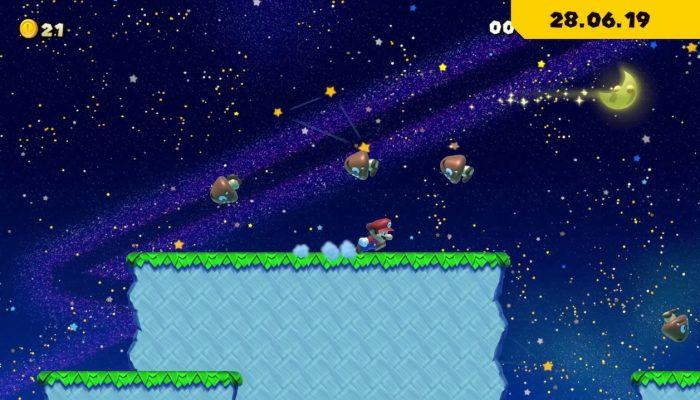 Super Mario Maker 2 – Quand la Lune entre en jeu…