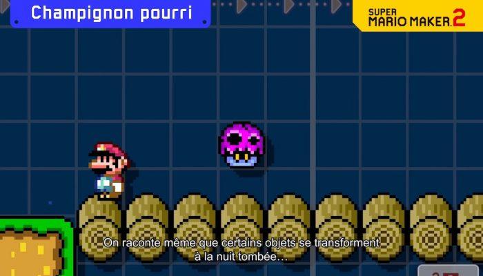Super Mario Maker 2 – Bande-annonce générale