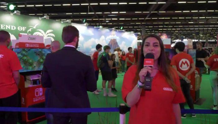 Tour d'horizon du stand Nintendo à la Japan Expo 2019
