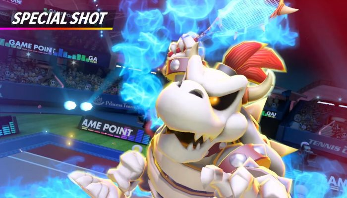 Mario Tennis Aces – Dry Bowser Showcase