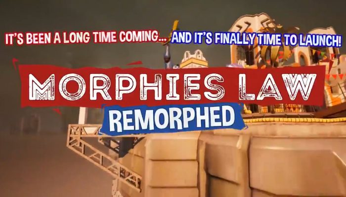 Morphies Law returns as Morphies Law Remorphed on July 30
