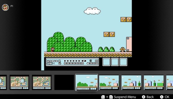 NES Nintendo Switch Online – Rewind Feature