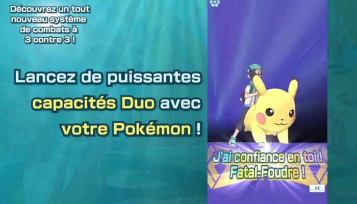 Pokémon Masters – Bande-annonce Une nouvelle façon de combattre !
