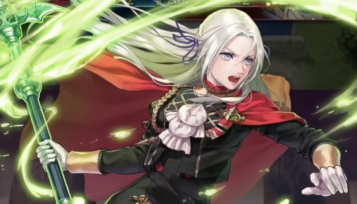 Fire Emblem Heroes – New Heroes (Three Houses) Trailer