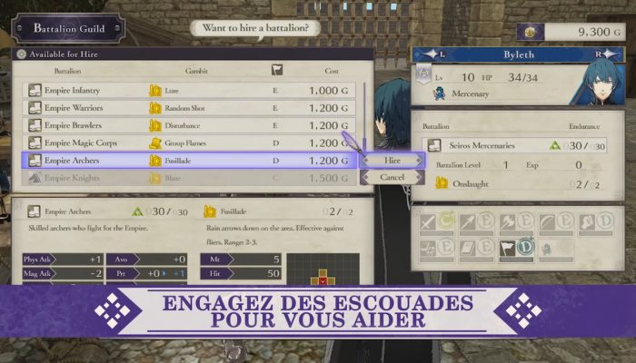 Fire Emblem : Three Houses – Bande-annonce de l'Académie des officiers
