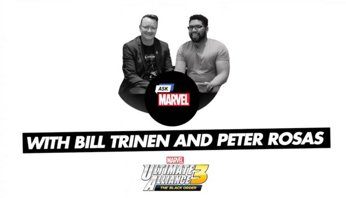 Bill Trinen and Producer Peter Rosas answer Twitter questions about Marvel Ultimate Alliance 3
