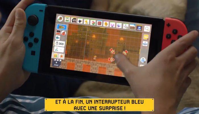 Un niveau pas très sympa pour cette publicité de Super Mario Maker 2