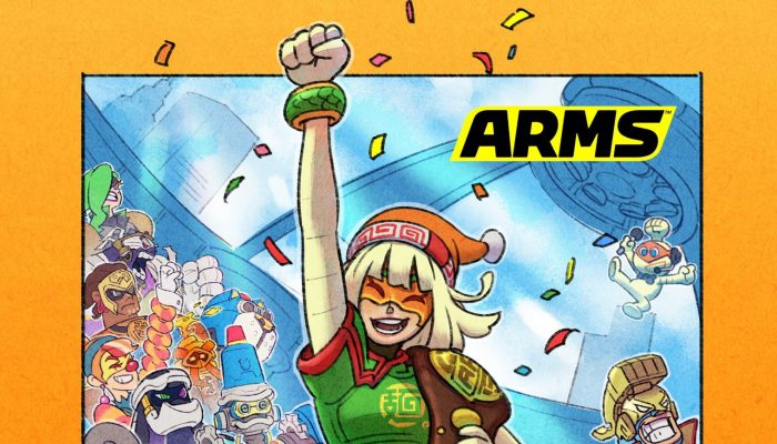 Here's an artwork to celebrate Min Min's victory and Arms's second anniversary