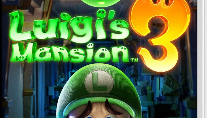 Check of the boxart of Luigi's Mansion 3