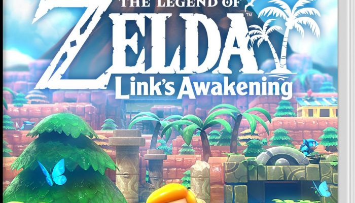 Check of the boxart of The Legend of Zelda Link's Awakening