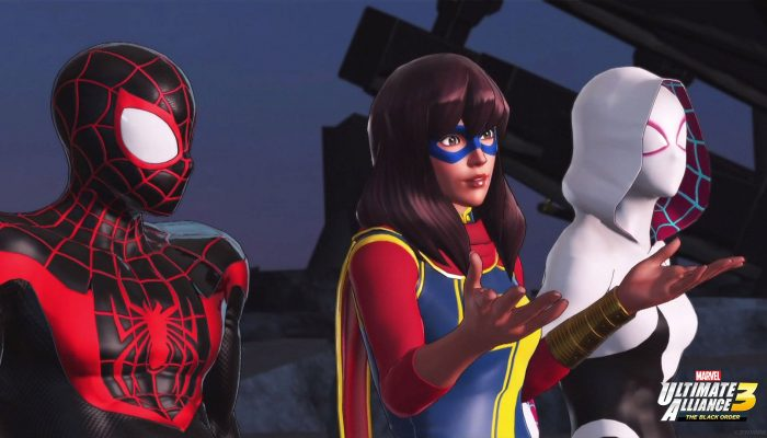 Here are some of the concept art of the Young Champion Spider-Man heroes for Marvel Ultimate Alliance 3