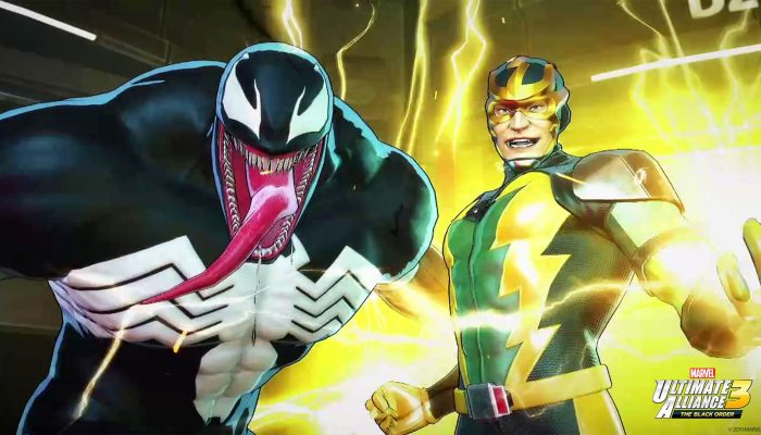Here are some of Venom and Electro's concept art for Marvel Ultimate Alliance 3