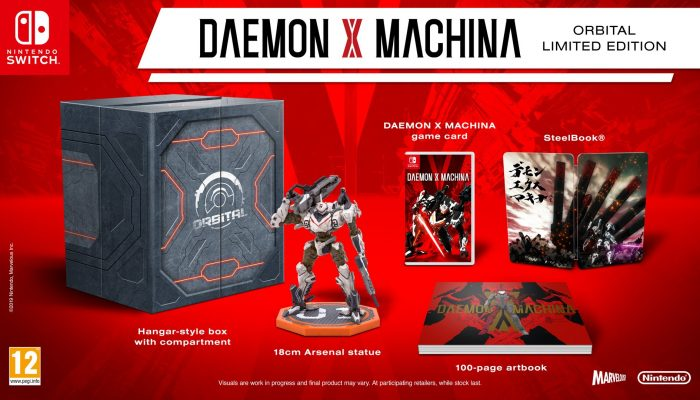 Introducing Daemon X Machina's Orbital Limited Edition