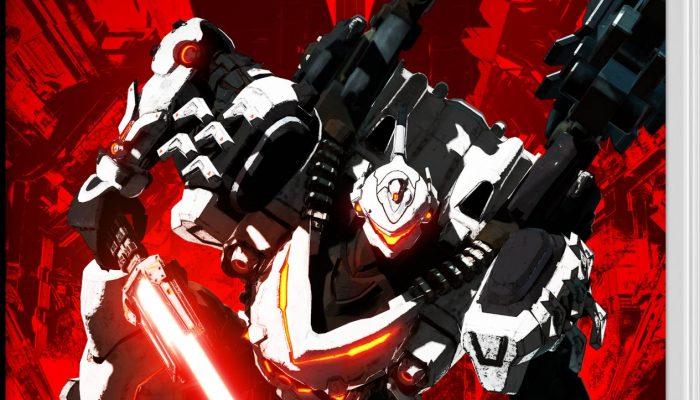 Check out Daemon X Machina's final box art