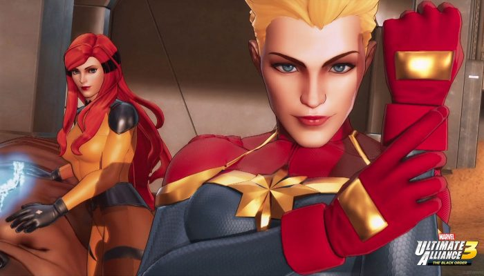 Here are some of Captain Marvel and Crystal's concept art for Marvel Ultimate Alliance 3