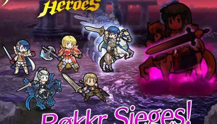 Røkkr Sieges begin in Fire Emblem Heroes