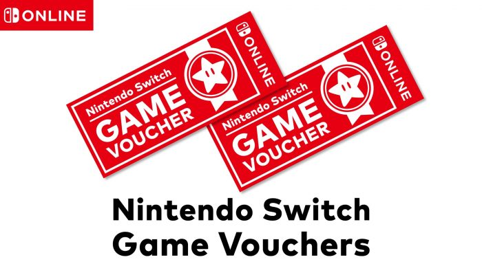 Just so you know, you can actually get as many Nintendo Switch Game Vouchers as you can afford