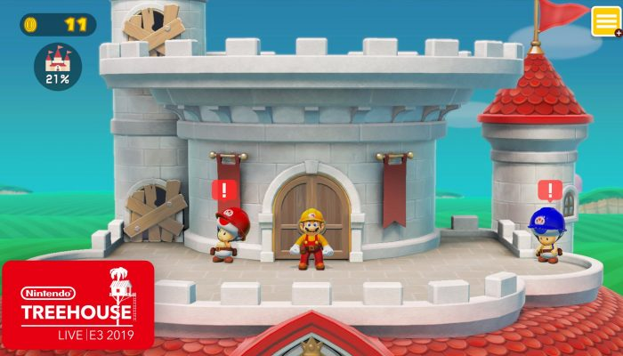 NoE: 'Check out Super Mario Maker 2's Story Mode and more with Nintendo Treehouse: Live'