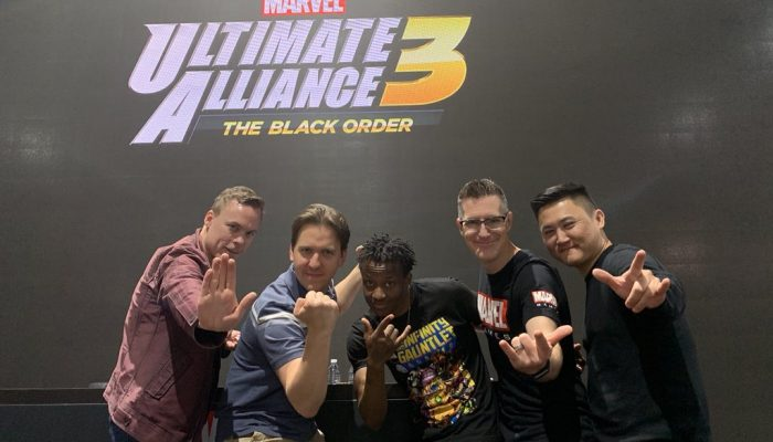 Marvel Ultimate Alliance 3 had a signing session at San Diego Comic-Con 2019