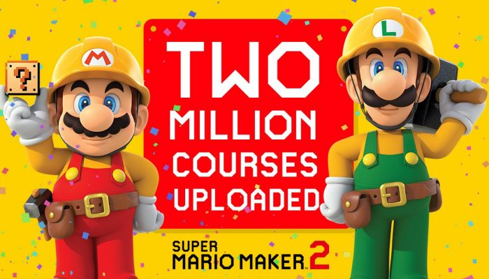 Super Mario Maker 2 celebrates two million courses uploaded