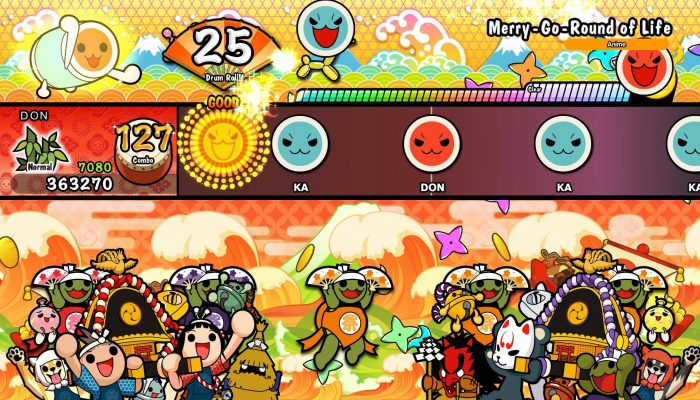 More characters and a new DLC pack are now available in Taiko no Tatsujin Drum 'n' Fun