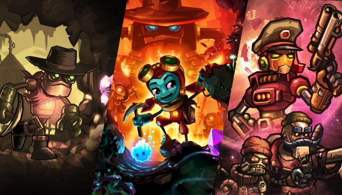 SteamWorld games on sale on the Nintendo Switch eShop in Europe and North America