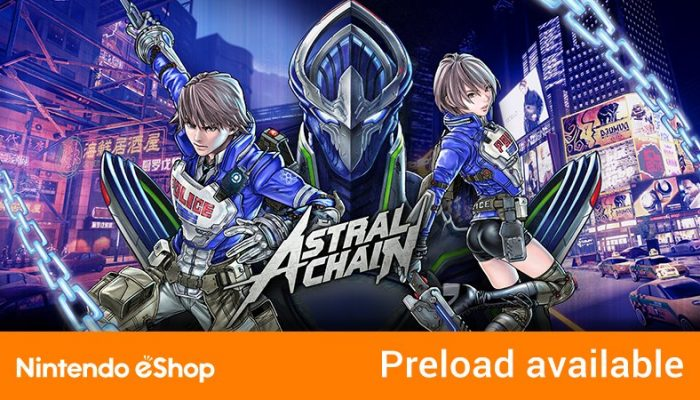 Astral Chain now available for pre-purchase in Europe and North America