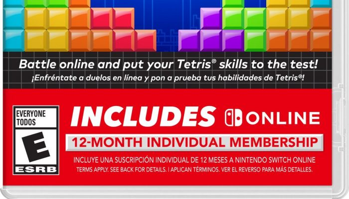 Tetris 99 is coming to retail September 6 in North America