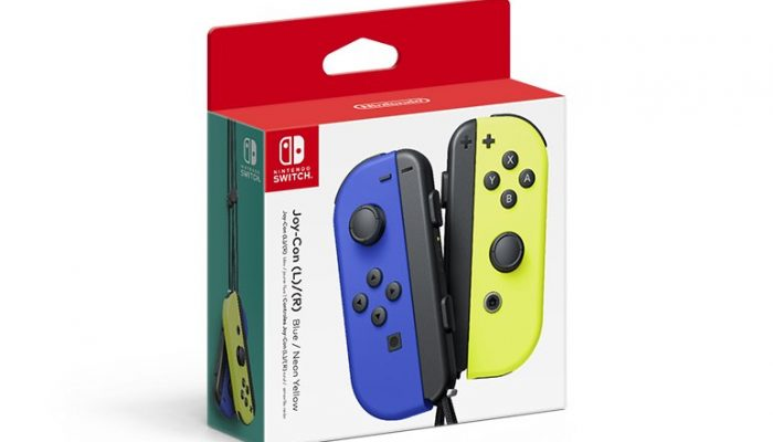 Two new Joy-Con combos set to launch October 4 in North America
