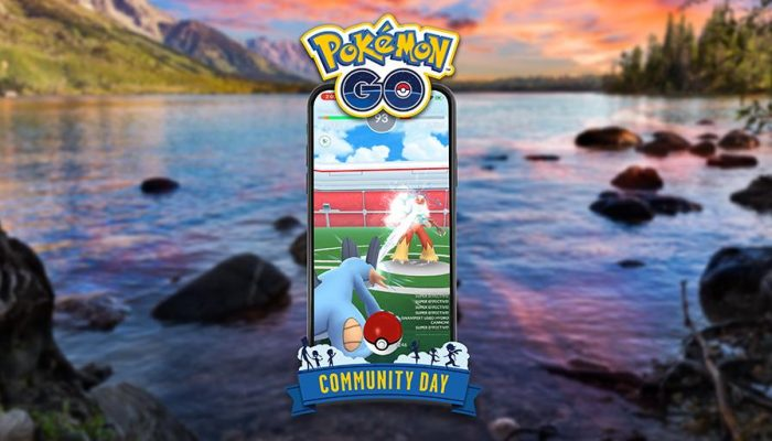 Hydro Cannon is Swampert's exclusive move for this July's Pokémon Go Community Day