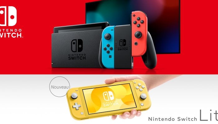 Nintendo France : 'Nintendo présente la Nintendo Switch Lite, une console dédiée au jeu portable'