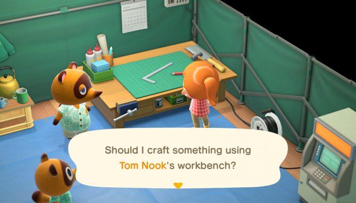 Nintendo France : 'Découvrez la vie qui vous attend sur une île paradisiaque dans Animal Crossing: New Horizons !'