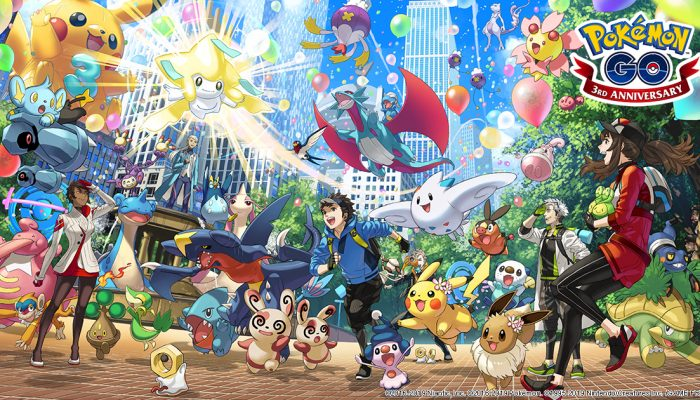 Niantic: 'Happy third anniversary, Pokémon Go!'