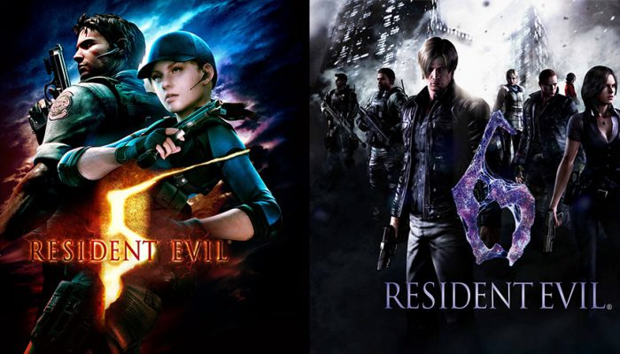 Capcom: 'Resident Evil 5 and Resident Evil 6 land on Nintendo Switch October 29th'