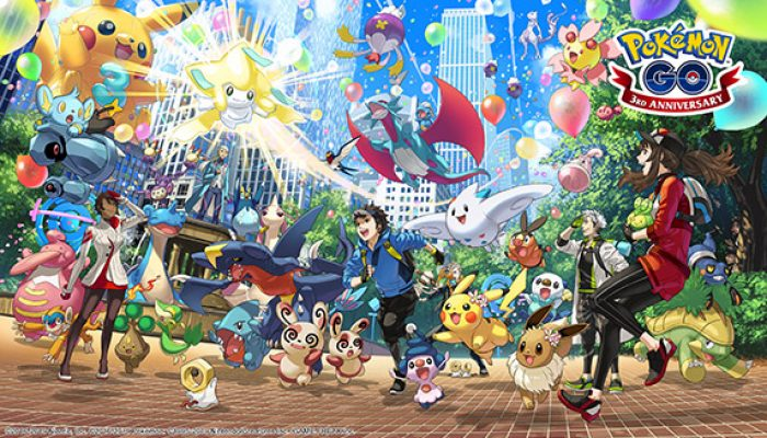 Pokémon: 'Pokémon Go's 3rd Anniversary Has Shiny Pokémon, Special Research, and More'