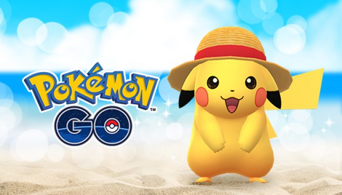 Pokémon: 'Straw Hat Pikachu Arrives in Pokémon Go from July 22 through July 29'
