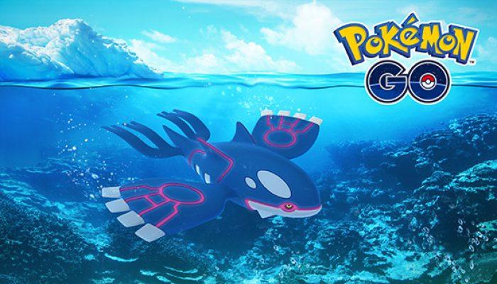 Pokémon: 'Kyogre Rises Again in Pokémon Go Raids'