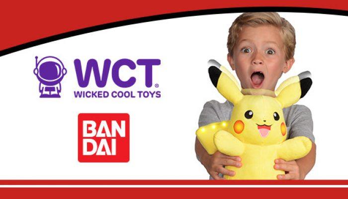 Pokémon : 'Jouez et parlez avec la peluche interactive de Pikachu de Wicked Cool Toys'