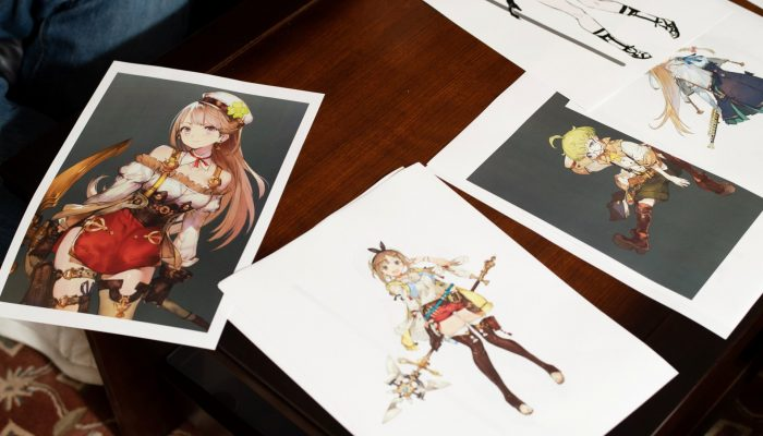 Atelier Ryza – Japanese Work-in-Progress Artworks