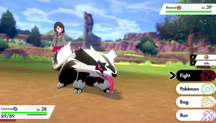 Pokémon Sword & Shield: 'Galarian Linoone'