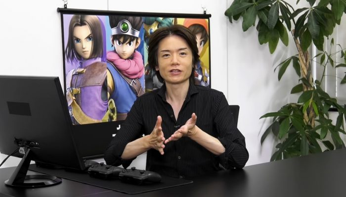 "Super Smash Bros. Ultimate – Mr. Sakurai Presents ""Hero"""