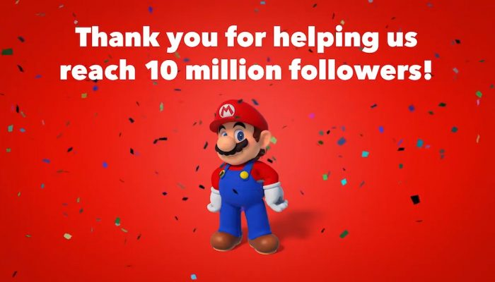 Nintendo of America celebrates 10 million followers on Twitter