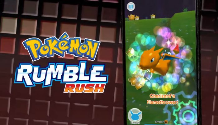 Pokémon Rumble Rush – Time to start exploring!